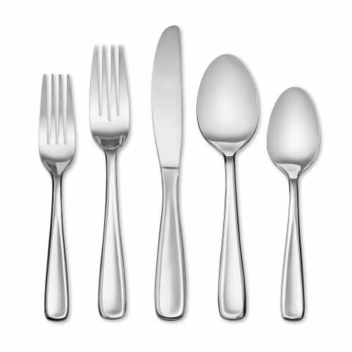 Dash of That Sean Flatware Set - Silver Perspective: front
