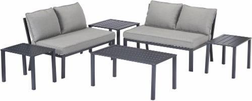 HD Designs Outdoors Indio Loveseat Set Perspective: front