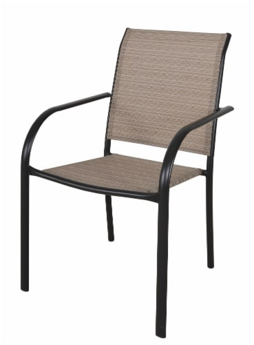 HD Designs Outdoors Orchards Dining Chair - Taupe Perspective: front