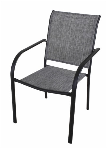 HD Designs Outdoors Orchards Dining Chair - Gray Perspective: front
