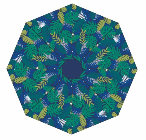 HD Designs Outdoors Market Umbrella - Palm Perspective: front