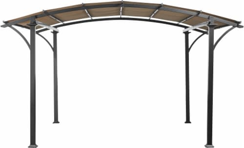 HD Designs Outdoors Pergola Arch Perspective: front