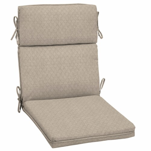 HD Designs Outdoors Replacement Cushion - Taupe Perspective: front