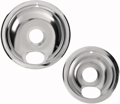 Everyday Living Universal Chrome Range Pans - Silver Perspective: front