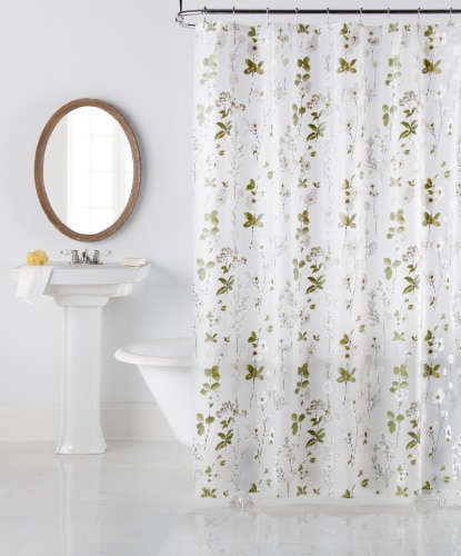 Everyday Living Daphne Shower Curtain Perspective: front