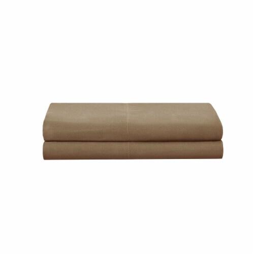 Modavari Home Fashions Pillow Case Set - Tan Perspective: front