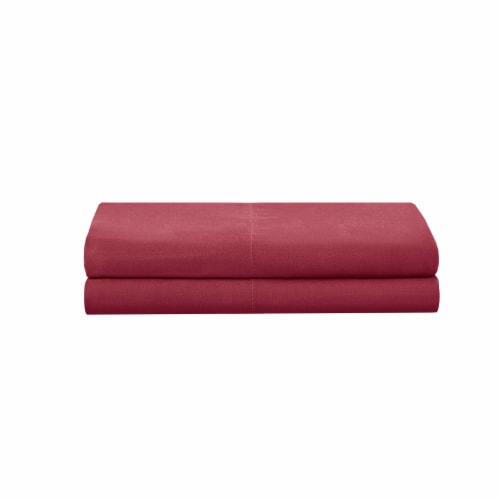 Modavari Home Fashions Pilllow Case Set - Red Perspective: front