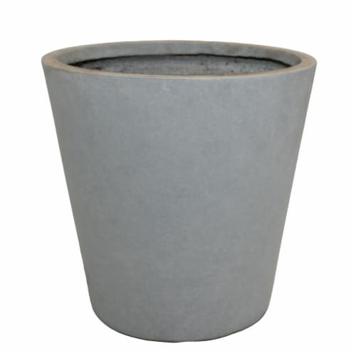 The Joy of Gardening Planter Set - Gray Perspective: front