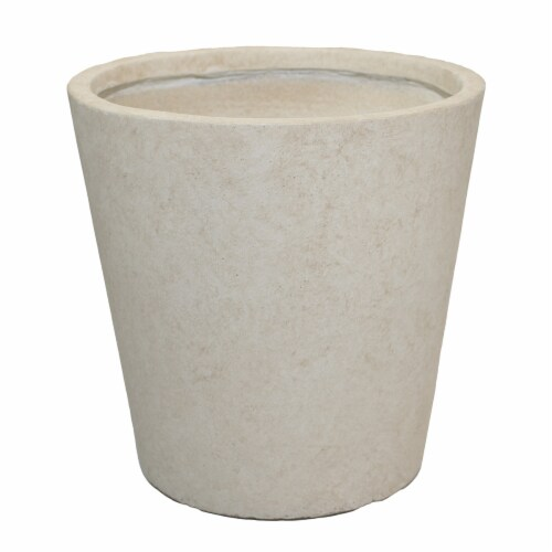 The Joy of Gardening Planter Set - Cream Perspective: front