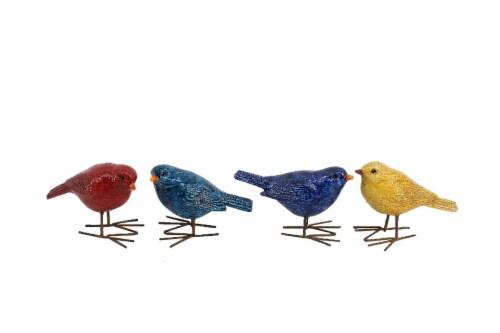 The Joy of Gardening Resin Bird Decor - Assorted Perspective: front