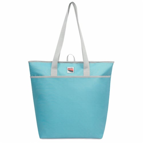 Glacier's Edge 50-Can Cooler Tote - Blue Perspective: front