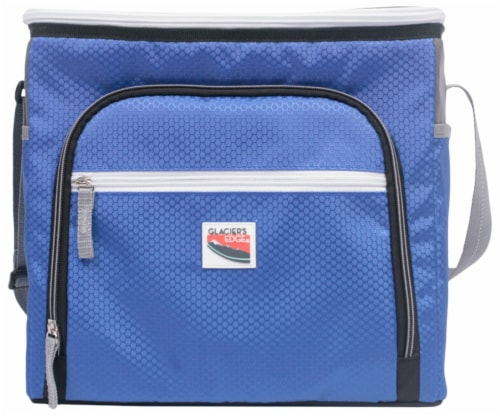 Glacier's Edge® 36-Can Cooler - Blue Perspective: front