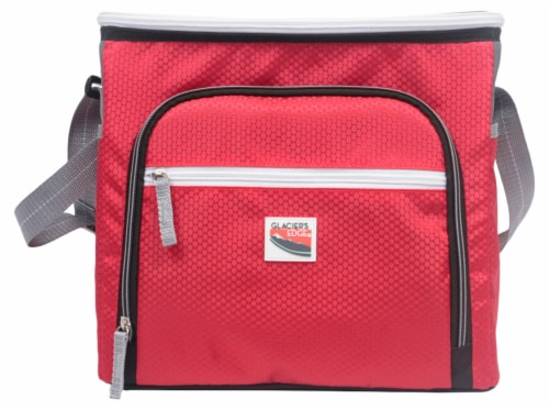 Glacier's Edge® Cooler - Red Perspective: front