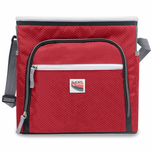 Glacier's Edge® 8-Can Cooler - Red Perspective: front