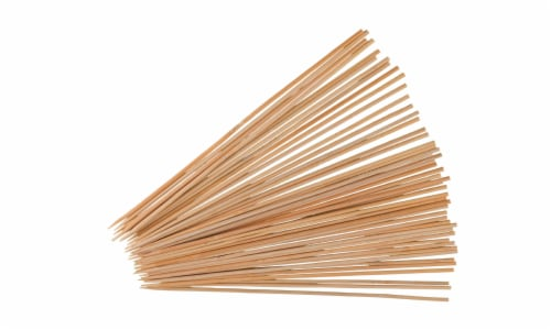 HD Designs Grill Extra Wide Bamboo Skewers - 50 Pack Perspective: front