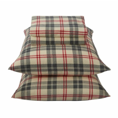 Everyday Living Flannel Buckingham Set - 4 Piece Perspective: front