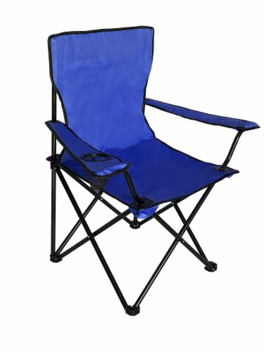 Glacier's Edge Summit Chair - Blue Perspective: front