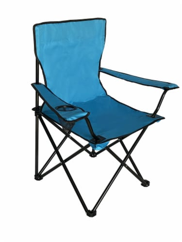 Glacier's Edge Summit Chair - Light Blue Perspective: front