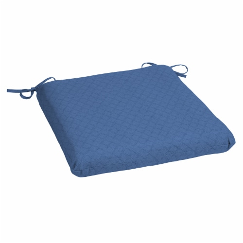 HD Designs Outdoors Seat Pad - Blue Yonder Perspective: front