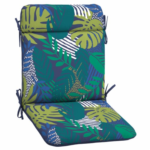 HD Designs Outdoors Mid Back Chair Cushion - Palms Perspective: front