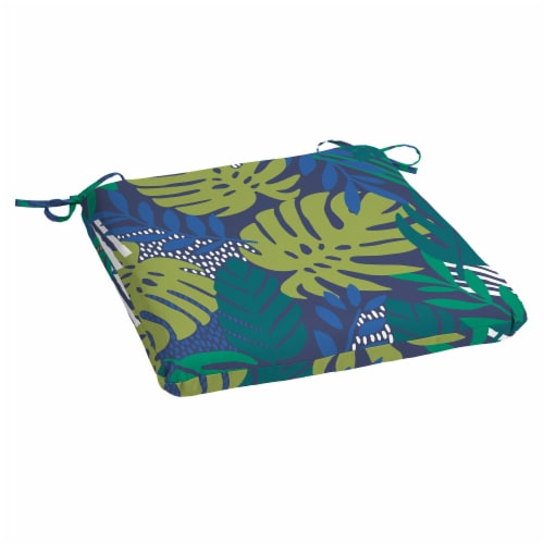HD Designs Outdoors Outdoor Seat Pad - Palms Perspective: front