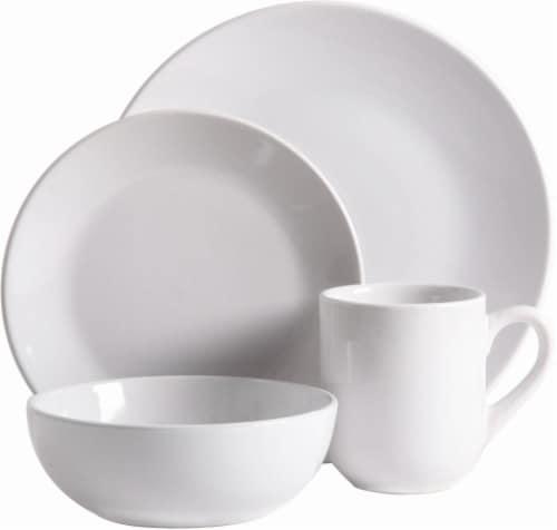 HD Designs Simplicity Dinnerware Set - White Perspective front  sc 1 st  Kroger & Kroger - HD Designs Simplicity Dinnerware Set - White