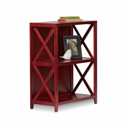 Hd 3tier Xsided Bookcase Perspective: front