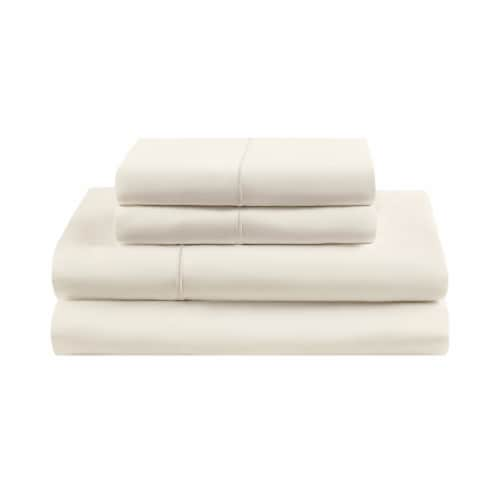 HD Designs Egyptian Cotton 500 Thread Count Sheet Set - 4 Piece - Cream Perspective: front