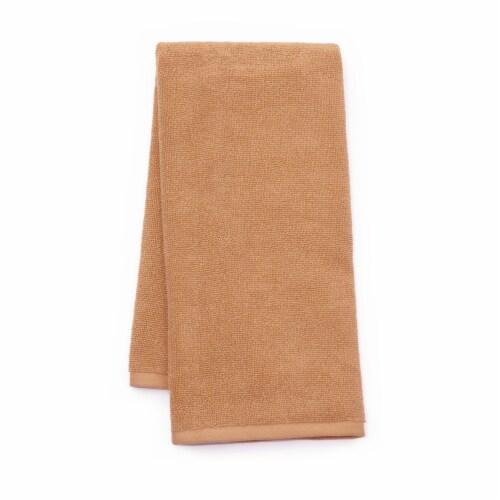 Dip Solid Hand Towel - Cork Perspective: front