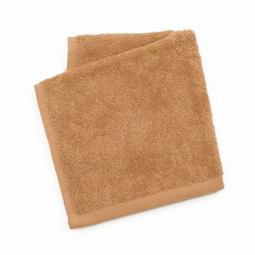 Dip Solid Wash Cloth - Cork Perspective: front