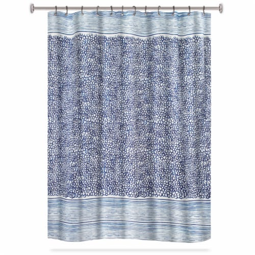 HD Designs Marine Fabric Shower Curtain Perspective: front