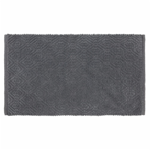 Dip Impressions Bath Rug - Quite Shade Perspective: front