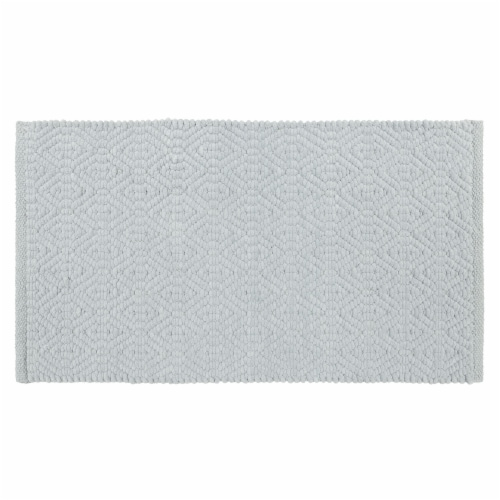 Dip Impressions Bath Rug - Icy Morn Perspective: front