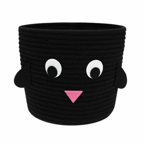 HD Designs Penguin Rope Bucket Perspective: front