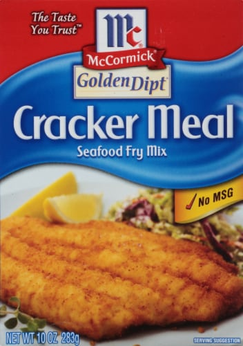 McCormick Golden Dipt Cracker Meal Seafood Fry Mix Perspective: front
