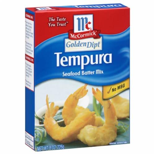 McCormick Golden Dipt Tempura Seafood Batter Mix Perspective: front