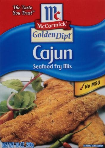 McCormick Golden Dipt Cajun Seafood Fry Mix Perspective: front