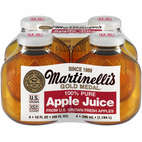Martinelli's Gold Medal Pure Apple Juice Perspective: front