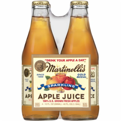 Martinelli's Gold Medal Sparkling Apple Juice Perspective: front