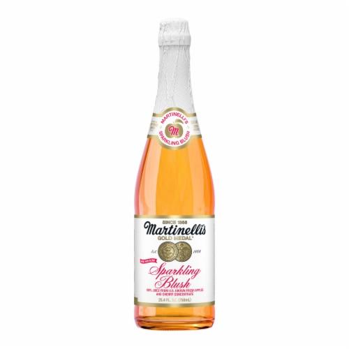Martinelli's Gold Medal Sparkling Blush Juice Perspective: front