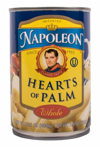 Napoleon Whole Hearts of Palm Perspective: front