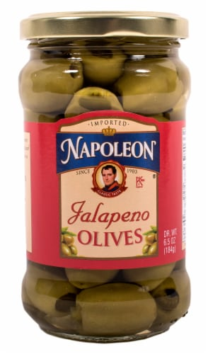 Napoleon Jalapeno Olives Perspective: front