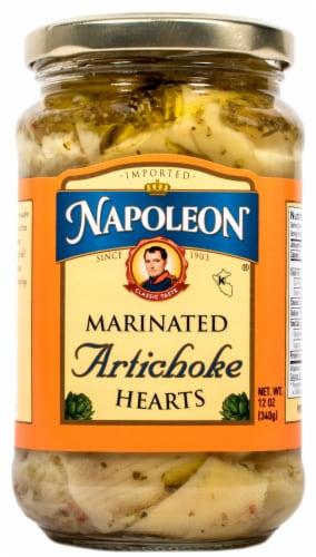Napoleon Marinated Artichoke Hearts Perspective: front