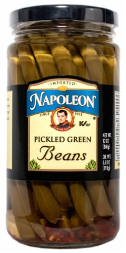 Napoleon Pickled Green Beans Perspective: front