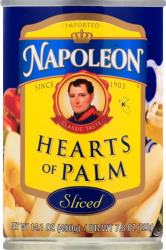 Napoleon Sliced Hearts of Palm Perspective: front