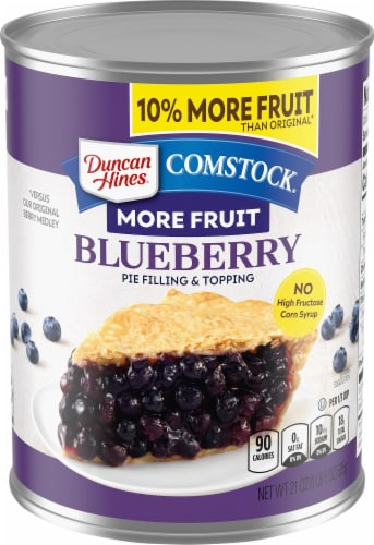 Comstock Blueberry Fruit Filling Perspective: front
