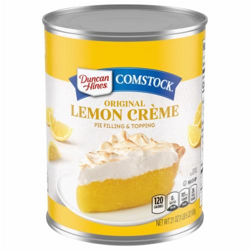 Duncan Hines Comstock Original Lemon Créme Pie Filling Perspective: front