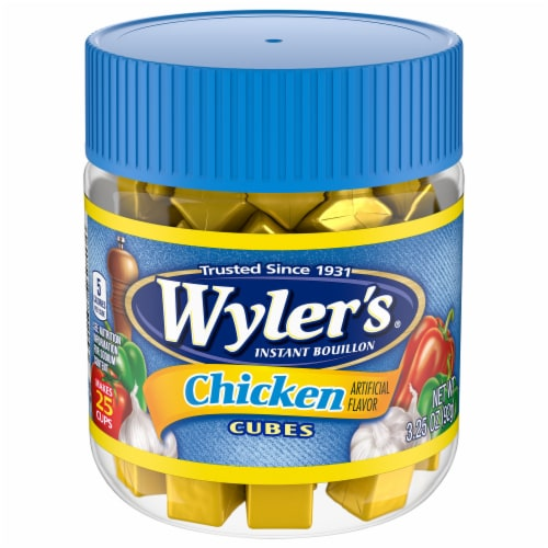Wyler's Instant Chicken Bouillon Cubes Perspective: front