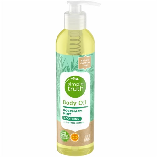 Simple Truth™ Rosemary Mint Body Oil Perspective: front