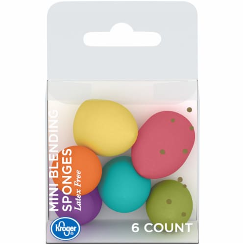 Kroger® Mini Blending Sponges Perspective: front